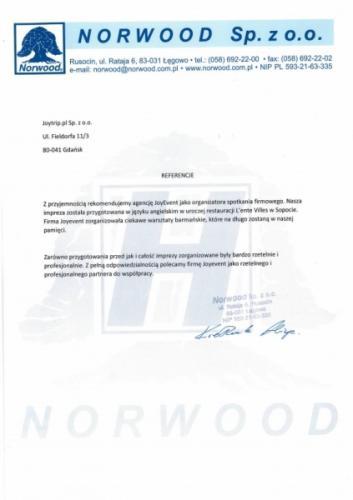 Realizacja dla NorWood